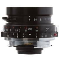 Voigtlander Color-Skopar 21mm f/4.0 Pancake Lens with Leica M Mount - Black