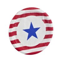 Stars and Stripes Dessert Plates