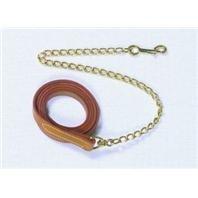 Artikelbild: Seil Leine mit Kette für Pferd, Farbe: Schwarz, Größe: 6Füße
