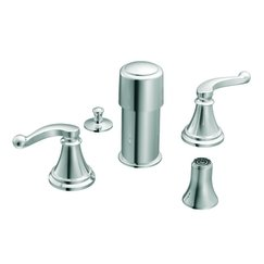 Savvy ADA Compliant Bidet Faucet Finish Chrome Bathroom Sink Faucets Ama