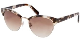 Kate Spade Sunglasses - Ziba / Frame: Speckled Tortoise Lens: Brown Gradient-Zibas0Jdw