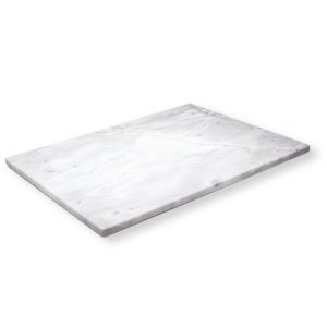 Amazon Com White Marble Pastry And Cutting Board 18 X 18