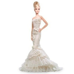 Buy Vera Wang 'Romanticist' Bride Platinum Label Barbie Only 999 Made