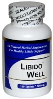 Libido Well - (90 Capsules) - Concentrated Herbal Blend - Dietary Supplement
