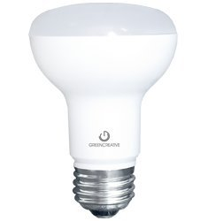 Green Creative 40600 - Led - 7.5 Watt - R20 - 50W Equal - 420 Lumens - 2400K Warm White