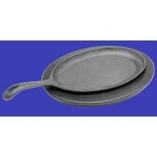 Johnson Rose Oval Skillet, 10 x 7 1/4 inch -- 1 each. (Cast Iron Skillet Oval compare prices)