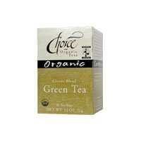 CHOICE ORGANIC TEAS TEA,OG2,CLASSIC GREEN, 16 BAG