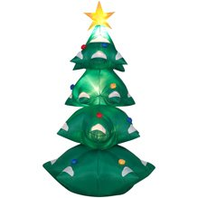 Christmas Tree 6 Ft Airblown Holiday Inflatable