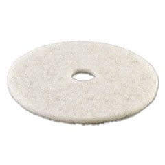 (3 Pack Value Bundle) PAD4021NAT Ultra High-Speed Natural Hair Floor Pads 21-Inch