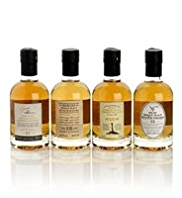 Single Malt Whisky - 4 Mini Bottle Gift Selection