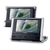 "Polaroid Dpa-07051 7"" Dual Screen Portable Dvd Player"