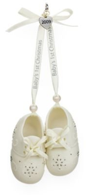 """B"" Is for Babies (and Booties!) 2009 Hallmark Ornament - 1"
