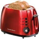 Hamilton Beach 2 Slice Metal Toaster, Candy Apple Red