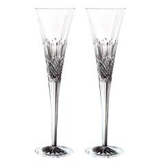Waterford Monique Lhuillier Ellypse Flute Pair