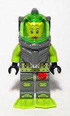 LEGO Atlantis: Samantha Rhodes Diver Minifigure