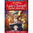 Lady and the Tramp II: Scamps Adventure [VHS]