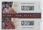 Buy Andrea Bargnani DeMar DeRozan #82 299 Toronto Raptors (Basketball Card) 2010-11 Playoff Contenders Patches Starting... by Playoff Contenders Patches