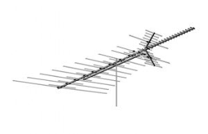AntennaCraft HD1800 Heavy Duty VHF UHF FM HD TV Antenna (HD-1800)
