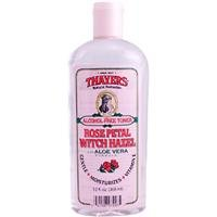 Thayer Witch Hazel AF Toner w/Aloe Vera Vitamin E, Rose Pental 12 oz