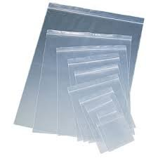 "2"" x 3"" 4 Mil Clear Zip Lock Bags, Case of 1000"