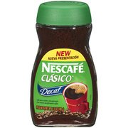 Nescafe Clasico Decaf Pure Instant Coffee, 3.5 Oz(Pack Of 4)