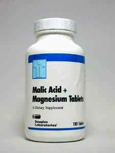 Malic Acid & Magnesium 180 Tablets