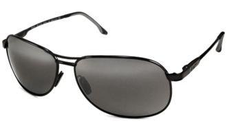 Maui Jim Akoni Sunglasses - Black Frame - Neutral Gray Lens