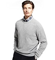 Blue Harbour Extrafine Pure Lambswool Crew Neck Jumper