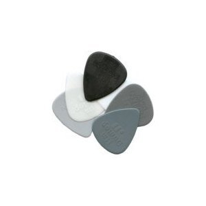 Jim Dunlop Nylon Guitar Picks / Plectrums (Handy pack of 6 Picks)