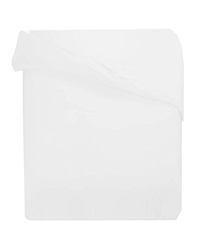 Wrinkle Resistant 600Tc Cotton Rich King Solid White Duvet Cover Only By Marrikas front-1041169