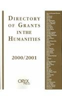 Directory of Grants in the Humanities, 2000-01 (Directory of Grants in the Humanities, 2000 2001)