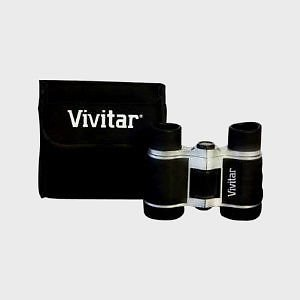 Vivitar 4X30 Classic Binoculars Free Case/Cloth Kit