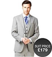 Big & Tall Superlite 2 Button Wool Blend Jacket with Anti-Odour Technology