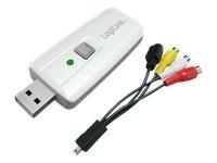 LogiLink VG0011 USB Audio und Video Grabber mit Snapshot für Mac und Pc