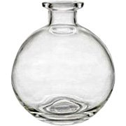 Round Decorative Glass Diffuser Bottle - 1 pc