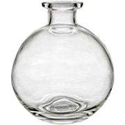 Round Decorative Glass Diffuser Bottle - 1 pc