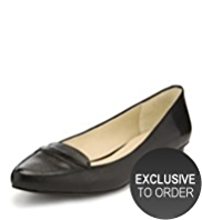 Autograph Leather Pointed Toe Loafers with Insolia Flex®