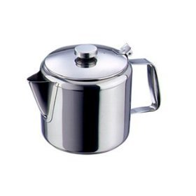 1 ltr stainless steel tea pot kitchen home - Cup stainless steel teapot ...