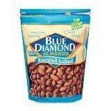 Blue Diamond Almonds, Roasted Salted, 16 Oz (Pack 2)