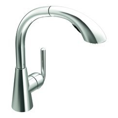 Ascent One Handle High Arc Pullout Kitchen Faucet with 68