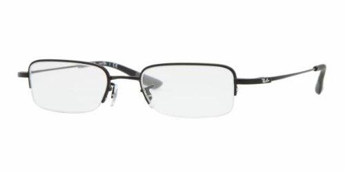 Ray-Ban RX 7513 Eyeglasses Styles - Matte Black Frame w/Non-Rx 48 mm Diameter RX7513-1012-4819