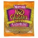 Nana's Cookies Ginger Cookie Gluten Free (12x3.5 Oz) deal 2016
