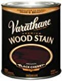 Rust-Oleum 241413 Varathane Oil Base Stain, Half Pint, Black Cherry