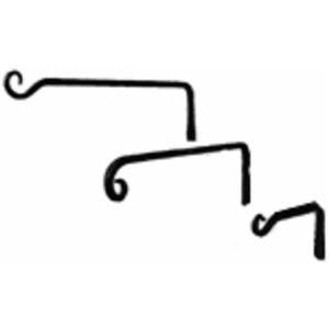 Order Achla Designs Tsh 12 Straight Curved Down Bracket