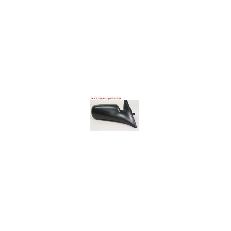 For 87-91 Camry Manual Remote Black Non-Folding Rear View Mirror Left Driver LH