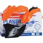 Polisport Motocross Complete Plastic Kit KTM85 SX 2006-12 Orange KTM