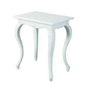 Image of Bailey Street MAT333 Erin End Table, White (B002Y2ZWJ6)