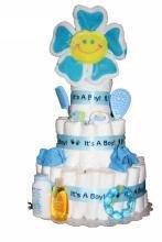 Its A Boy Diaper Cake