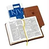 echange, troc  - Holy Bible: King James Version, Tan, Imitation Leather, Personal Concord Reference Bible
