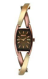 DKNY Crossover Stainless Steel Two-Tone Women's watch #NY8439
